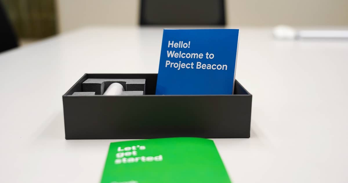 What is Google's Project Beacon and did you Receive One?